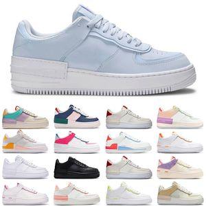 1 shadow scarpe da donna ombra idrogeno Bianco Blu Bianco pallido avorio triple bianchi mens Polline ascesa Abete Aura Phantom tennis casuali Chaussures