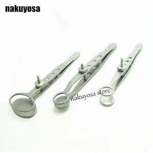three size S M L can choose Stainless Steel Ophthalmology eyelid tweezers chalazion chalazion cyst folder clip Pii2#