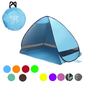 11 Colors SimpleTents Easy Carry Tents Outdoor Camping Accessories for 2-3 People UV Protection Tent for Beach Travel Lawn w-00284