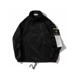 20fw nova mens chegada desenhador do hoodie roupas de inverno camisola de algodão pullover stoney Jacket Funcional camisola streetwear