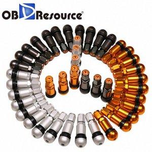 OBDResource 요크의 자동차 알루미늄 합금 진공 타이어 휠 방폭 밸브 대상 캡 자동차 TPMS 액세서리 dQpT 번호