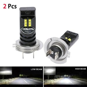2PCS H7 6000K 55W 5000Lm Beam Kit LED Fog Light Bulb Day Running Light IP68 LED Car Headlight Conversion Globes Bulbs Headlamp