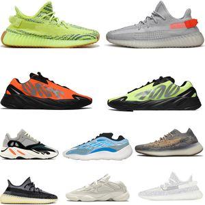 Adidas Yeezy Sıcak Satış Kanye West 700 Kadın Erkek Koşu ayakkabıları Vanta 700 V3 Azael Azareth Mavi Yulaf 380 Zebra Beluga eğitmenler spor ayakkabısı