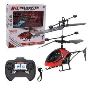 Дроны Мини 2Channel Дистанционное управление Самолет Авиационная модель Детская образовательная электрическая вертолетная игрушка