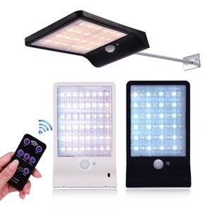 48 LED Solar Light Motion Sensor Wall Lamp Remote Control Wireless IP65 Waterproof Street Light