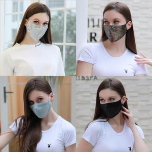 200Pcs Lot Bianco volto femminile di travestimento di Halloween Mime mascherina mascherine costume del partito palla # 672