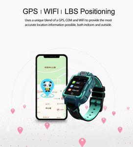 Nuevo producto Kid Watch con IP67 impermeable 4G video llamada GPS posicionando niños relojes móviles teléfonos niños niños inteligente reloj