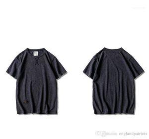 Mens Designer T-shirts Summer Fashion O Neck Tees Roupa Manga Curta Masculino Hommes Tops Pure Color