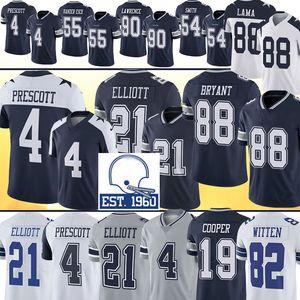 21 Ezekiel Elliott 4 Dak Prescott DallasKovboylarJersey Cole Beasley Leighton Vander Esch Jason Witten Futbol Amari Cooper