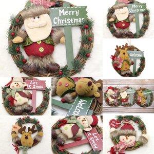 i8QFG Christmas FamilyHanging Xmas Орнамент Санта-Клаус с маской персонализированного украшения ООА
