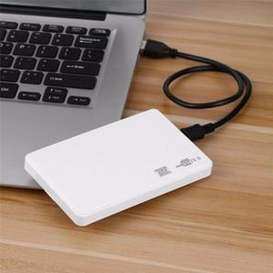 "100set lot 2.5Inch 2.5"" SATA Box USB 2.0 HD HDD Hard Drive Mobile Disk External Enclosure Case"
