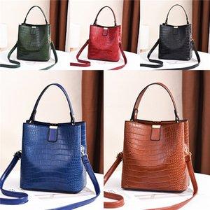 Nuevo cuero de las mujeres diseñador de los bolsos Bolsa Riefsaw estilo simple Tipo Crossbody de las señoras de bolso # 456