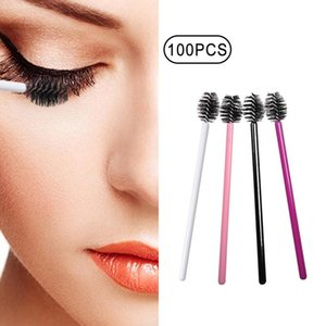 Eyelash Extension Disposable Eyebrow brush Mascara Wand Applicator Spoolers Eye Lashes Cosmetic Brushes Set makeup tools 10