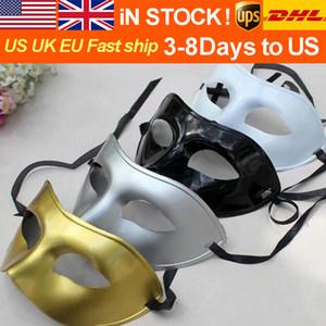 SICAK Seeling Masquerade Ball Erkek Göz Basit Siyah Half Maske - Yüz Cadılar Bayramı Partisi Performans Dikmeler Tatil Maske Partisi