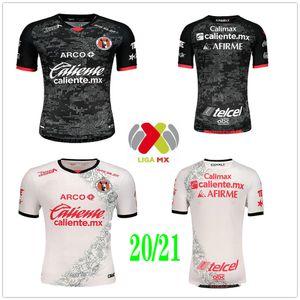 2020 2021 Mexique Club Tijuana Soccer Jerseys Rivero G.Bou Corona Lucero Malcorra Kalinski Custom Xolos de Tijuana Home Shirt de football