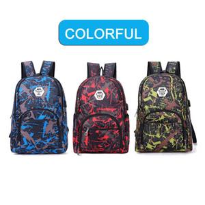 Beste Outdoor-Beutel Tarnung Spielraum-Rucksack Unisex-Computer Taschen Oxford Bremsketten Middle School Student Bag viele Farben auf Lager