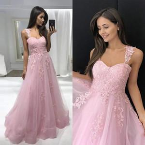Setwell Espagueti una línea de vestidos de noche sin mangas Apliques de encaje plisado de longitud de Prom Vestidos Fiesta del tamaño extra grande