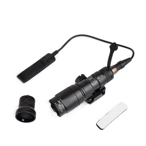Airsoft Tactical SF M300 Mini Scout Light 250lumen тактический фонарь с дистанционным выключателем хвост крепление для 20MM Weaver Rail