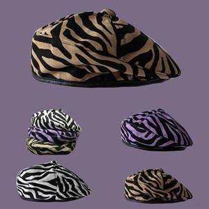 Xphev arco es sombrero de paja sombrero para el sol cebra Sombreros cuidadosamente tejidas con la boina grande hatsoft cuenca del ala y el sombrero plegable con amplios aleros en línea