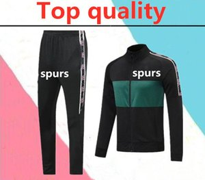 2020 Spurs 축구 트랙 슈트 긴 지퍼 재킷 20/21 Kane Camiseta de Futbol 해리 델 레 드 델리 Solveetement 축구 긴 지퍼 트랙 슈트