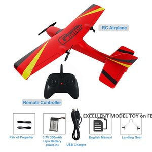 2.4G Z50 Remote Control Fixed Wing Glider, 6-axis Gyros, DIY Aircraft Toy, Impact Resistant EPP Material, Xmas Kid Birthday Boy Gift, 2-1