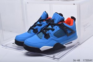 Men jumpman 4 4s 5 6 11 Men Basketball shoes Blue bred cool grey Mushroom fire red Neon mens trainers sneakers size 36-48