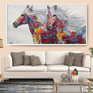 Graffiti Art Canvas Painting Posters and Print Elephant Animal Quadro Modern Wall Pictures For Living Room Unframed