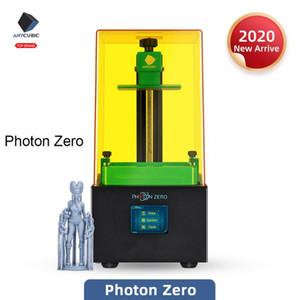 طابعة Anycubic فوتون صفر 3D LCD SLA الراتنج DIY 3D طابعة ألوان السريع شريحة UV Impresora دراكر Impressora