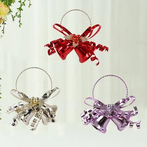 Jingle Bells Christmas Bell Подвески Декор Xmas елка украшения на Рождество украшения Новый Год Детские подарки