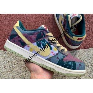 NikeSBDUNKLOWreact Travis x Dunks Baixa SP Lemon Wash CZ9747-900 mulheres ocasional tênis de corrida Chunky ostenta Scotts sneakers YT