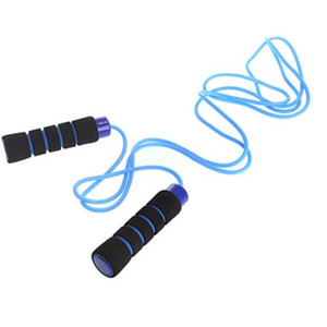 Skipping rope jump sports lids women men fitness health sports rope with foam grips handles for boxing, MMA, fitness, workout, crossfit