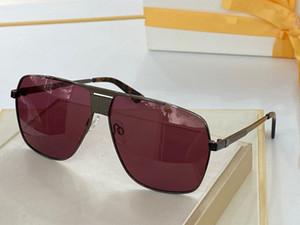 3336 Damen-Sonnenbrille arbeitet Sonnenbrille Anti-UV-Objektiv Beschichtete Spiegel-Objektiv Randlos Farbe Galvanik-Rahmen mit Box