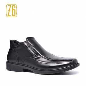 Z6 Brand Ankle Boots Size 40~45 2017 Autumn Male Leather Shoes #R5399 1 Wedge Booties Boots Sale From , $34.89| DHgate.Com 1QEX#