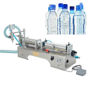 10-5000Ml eléctrica de un cabezal de llenado de bebidas horizontal máquina de zumo de fruta cerveza máquina de llenado automático cuantitativa líquido de llenado m