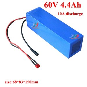 60v lithium unicycle battery 4.4ah 4400mah brand 18650 cells li-ion pack scooter 350w 600w skateboard