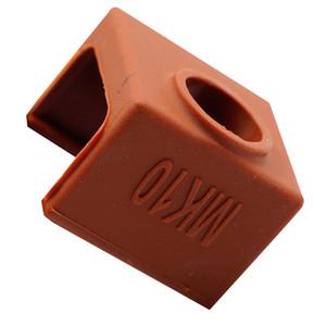 Imprimante 3D Partie MK10 Silicone Case Cover Socks café au lieu Céramique
