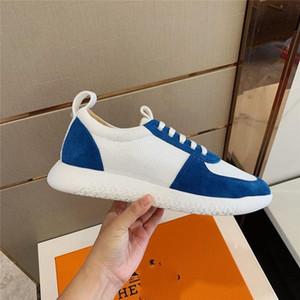 2020 Men s progettista Sneaker Running Basketball Shoes Knit Mesh Neoprene Sneakers Fashion Men Slip-on Trainers Casual Shoes