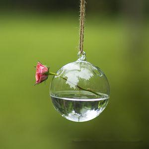 Diameter=15cm Transparent Glass Pendant Diameter=8cm 10cm 12cm 15cm Christmas Glass Hanger Wedding Decoration Terrarium