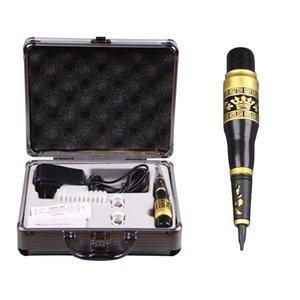 Перманентный макияж машина Kit Профессиональной бровей татуировка питания Tatoo составляет комплект оборудования инструмента