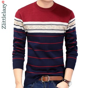 Fashion Casual Clothing Social Fitness Bodybuilding Striped T Shirts Men T-shirt Jersey Tee Shirt Pullover Sweater Camisa 200925