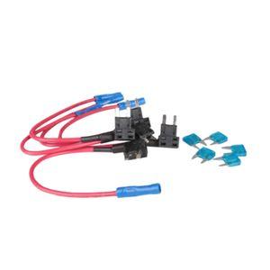 5X ATO ATC Adicionar Titulares Um circuito Fuse Tap sobreposto Standard Blade fusíveis Caixa