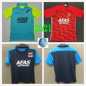 2020 2021 AZ Alkmaar Futbol Formalar DE WIT STENGS Boadu Custom Yetişkin Çocuk Ev Üçüncü Futbol Gömlek camiseta de fútbol maillot de foot