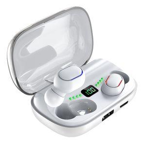 새로운 T11 TWS 무선 헤드폰 블루투스 5.0 이어폰 이어폰 3300mAh 충전 빈 스테레오 이어 버드 IPX7 스포츠 방수 헤드셋