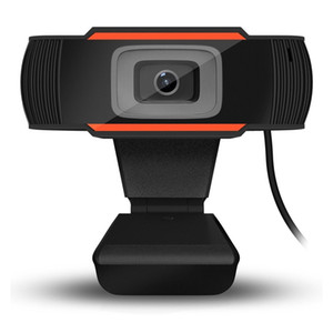 HD Webcam Web Camera 30fps 480P 720P 1080P PC Camera Built-in Sound-absorbing Microphone USB 2.0 Video Record For Computer PC Laptop
