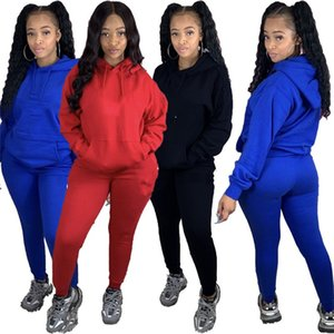 womens sportswear designer outfits long sleeve 2 pieces set tracksuit pullover leggings shirt pants sexy sportsuit comfortable klw5048