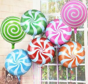 18-Zoll-Partei-Dekoration Lutscher-Ballon Hochzeit Ballons Umweltfreundlich Biologisch abbaubare Helium-Ballone Party Favors Schiff frei