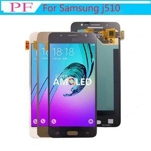 AMOLED LCD para la galaxia de Samsung J5 2016 J510 LCD pantalla táctil de la pantalla para Samsung J510 J510f J510fn J510m Lcd digitalizador