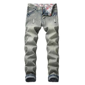 hommes denim pantalons de jogging hommes pantalons grande taille en détresse garçons frais de jeans hommes Designer de mode pantalon déchiré jeans