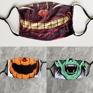 4VDas comodín Fleck halloween horror campana mascarada máscara de látex de Navidad con el pelo Hallowmas