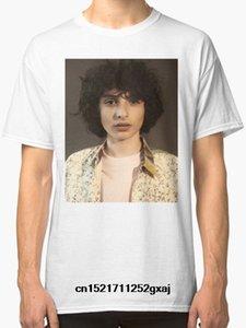 Männer-T-Shirt New Finn Wolfhard Weiß Tops O Ansatz Adult T-Shirt T-Shirt Neuheit T-Shirt Frauen